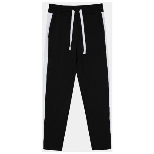 Спортивные брюки Gulliver размер 122, черный