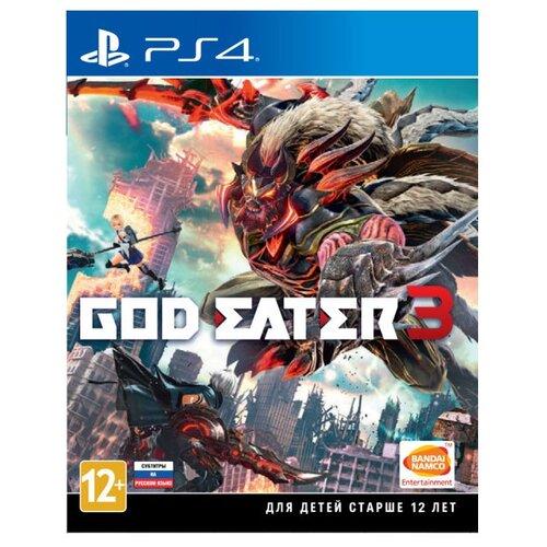 Игра для PlayStation 4 God Eater 3 русские субтитры