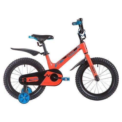 Фото - Детский велосипед Novatrack Blast 16 (2019) оранжевый (требует финальной сборки) детский велосипед novatrack urban 16 2019 синий требует финальной сборки