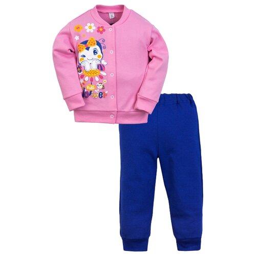 Купить Комплект одежды Утенок размер 92, розовый/василек, Комплекты