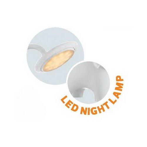 Настольная лампа светодиодная HOROZ ELECTRIC Jumbo 049-027-0006 белая, 6 Вт