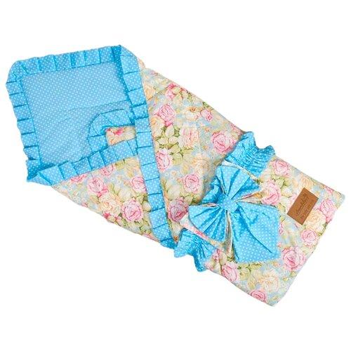 Купить Одеяло на выписку AmaroBaby HAPPY (Сказка бирюзовый), Конверты и спальные мешки