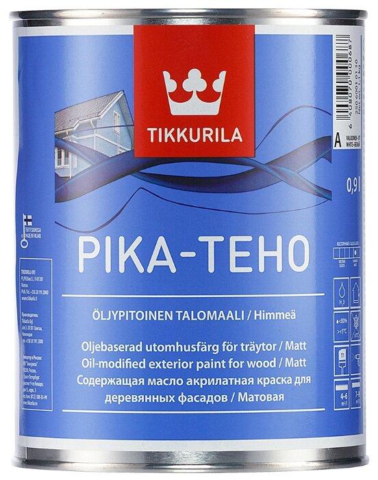 Краска акриловая Tikkurila Pika-Teho матовая