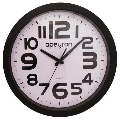 Фото - Часы настенные кварцевые Apeyron PL 15.1 черный часы настенные кварцевые apeyron diy 2303 черный