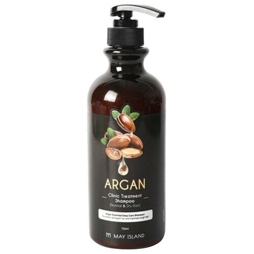Купить MAY ISLAND Шампунь для волос Argan Clinic Treatment Shampoo, 750 мл