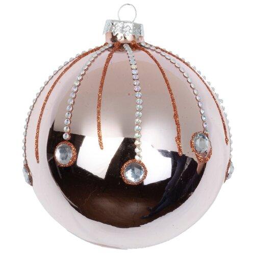 Набор шаров KARLSBACH 08999, розовый/серебряный