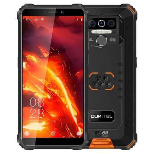 Смартфон OUKITEL WP5 Pro черный/оранжевый