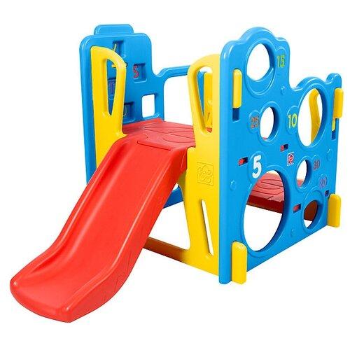 Спортивно-игровой комплекс Grow'N Up Climb N Explore Play Gym красный/желтый/голубой