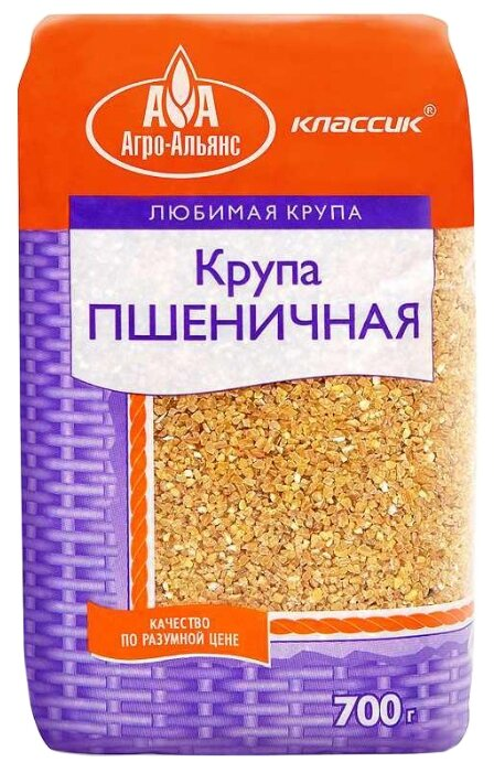 Агро-Альянс Крупа пшеничная 700 г