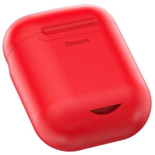 Купить Чехол Baseus для беспроводной зарядки AirPods красный