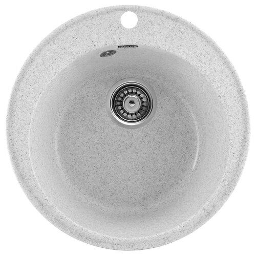 Врезная кухонная мойка 47.5 см Gerhans A05 19 серый gm a05