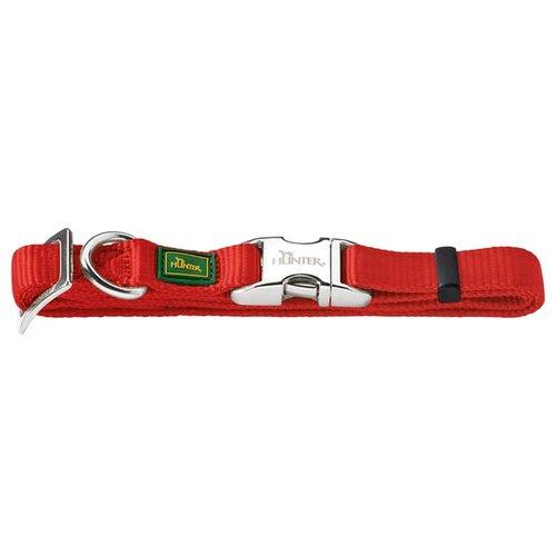 Ошейник HUNTER Basic Alu-Strong L 45-65 см red