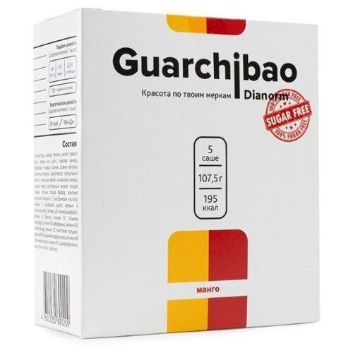 Guarchibao Фитококтейль без сахара Dianorm Манго, 5 шт. в упаковке, 107.5 г