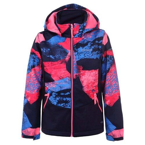 Куртка ICEPEAK 551808669IV размер 128, темно-синий пуховик женский icepeak цвет темно синий 253053532iv размер 46 52