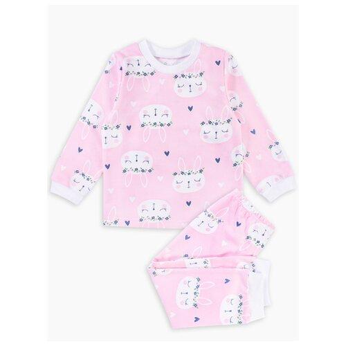 Пижама Веселый Малыш размер 122, розовый пижама веселый малыш размер 122 белый розовый
