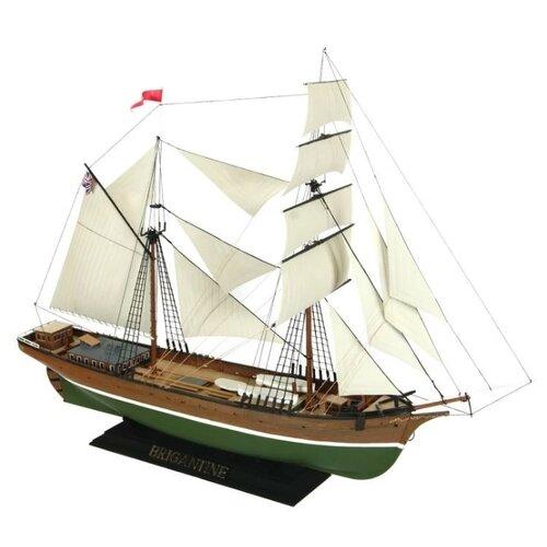 Сборная модель ZVEZDA Бригантина (9011PN) 1:100 сборная модель zvezda бригантина 9011 1 100
