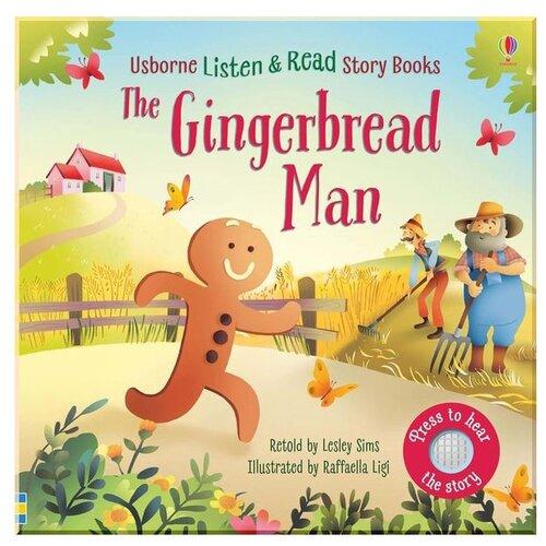 Купить Listen & Read Story Books. The Gingerbread Man, Usborne, Детская художественная литература