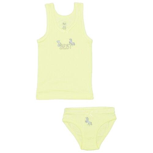 Купить Комплект нижнего белья RuZ Kids размер 140-146, фисташковый, Белье и купальники