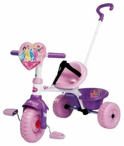 Трехколесный велосипед Smoby 444144 Pilot Princess