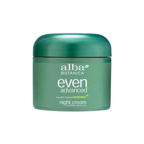 Alba Botanica Even advanced sea plus renewal night cream Крем для лица обновляющий с морским комплексом, 57 г очищающее средство alba botanica