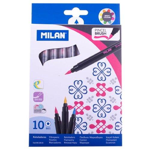 Купить MILAN Набор фломастеров 661, 10 шт., Фломастеры и маркеры