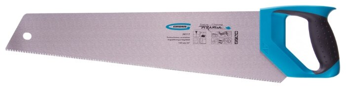 Ножовка по дереву Gross Piranha 24117 500 мм