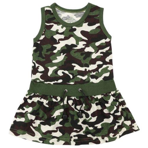 Купить Платье iBala размер 32 (98-104), хаки, Платья и сарафаны
