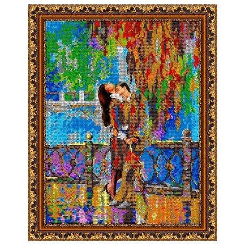 Светлица Набор для вышивания бисером Поцелуй 24 х 30 см (417)