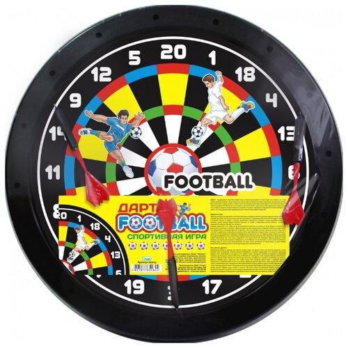 Купить Дартс Гелий Футбол (0025) черный, Спортивные игры и игрушки