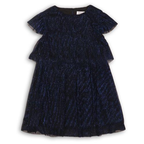 Платье Minoti размер 3-4г, темно-синий