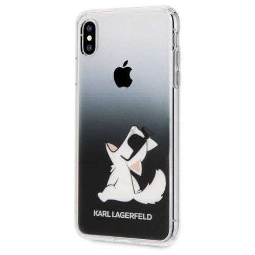 Купить Чехол CG Mobile Karl Lagerfeld PC/TPU Fun Glasses Choupette для Apple iPhone Xs Max black