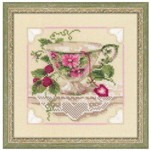 Купить Риолис Набор для вышивания 1476 Малиновый чай , Наборы для вышивания