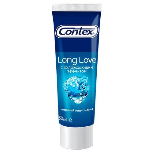 Гель-смазка Contex Long Love с охлаждающим эффектом 30 мл туба