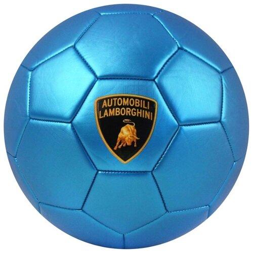 Футбольный мяч Lamborghini LB3M голубой 5