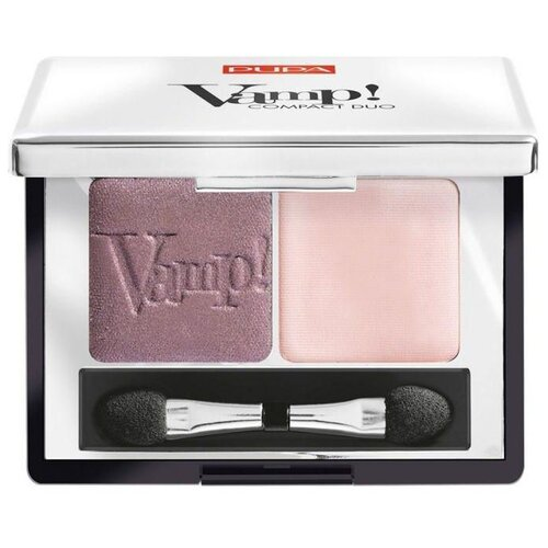 Pupa Тени для век Vamp! Compact Duo 003 soft mauve pupa тени для век vamp compact duo 007 dark night