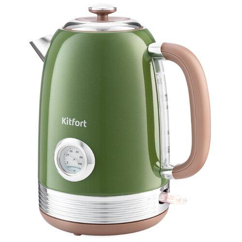 Чайник Kitfort KT-6110, зеленый