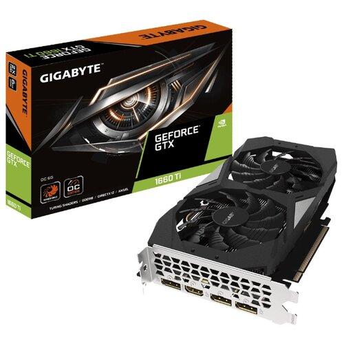 цена на Видеокарта GIGABYTE GeForce GTX 1660 Ti 1800MHz PCI-E 3.0 6144MB 12000MHz 192 bit HDMI 3xDisplayPort HDCP OC Retail