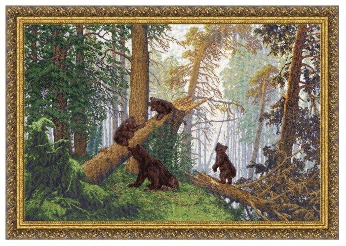 Золотое Руно Набор для вышивания Утро в сосновом лесу (Шишкин И.И.) 52,9 х 78,1 см (ПФ-008)