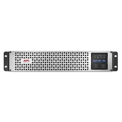 Интерактивный ИБП APC by Schneider Electric SMTL750RMI2U черный