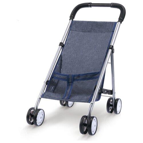 Прогулочная коляска S+S Toys 200408272 серый коляска прогулочная capella s 803wf сибирь лайм gl000984336