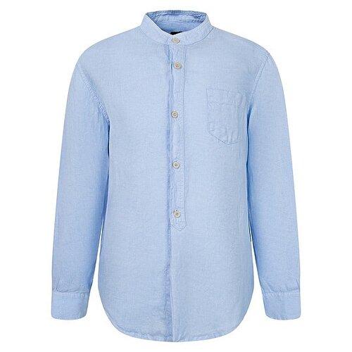цена на Рубашка Il Gufo размер 98, голубой
