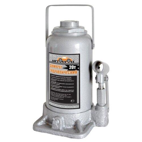 Домкрат бутылочный гидравлический Автостоп AJ-020 (20 т) серый домкрат бутылочный гидравлический автостоп aj 016 16 т серый