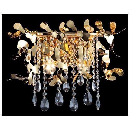 Настенный светильник Crystal Lux Romeo AP2 Gold, 120 Вт недорого