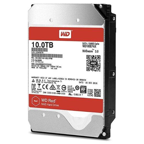 Жесткий диск Western Digital WD100EFAX серебристый