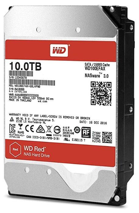 Жесткий диск Western Digital WD Red 10 TB (WD100EFAX)
