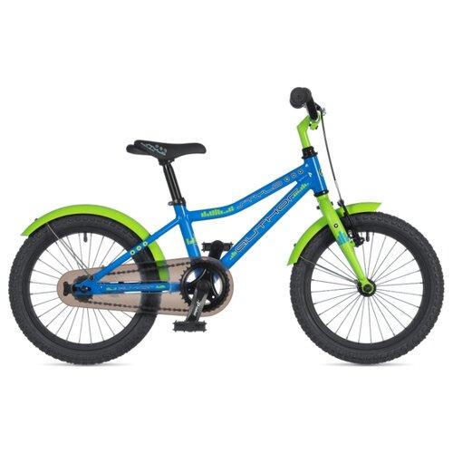 Детский велосипед Author Stylo 16 (2020) blue/green 9 (требует финальной сборки) дорожный велосипед author