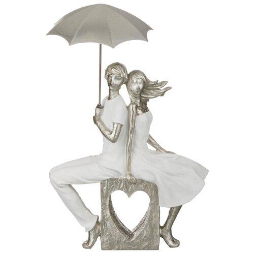 Фото - Статуэтка влюбленные Lefard серия Фьюжн 22*8*34 см (162-262) статуэтка lefard йога серия фьюжн 13 5х7х18 5 см 162 700
