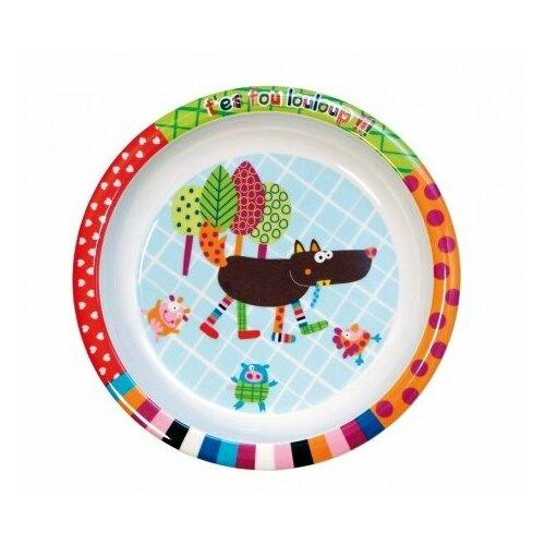 Купить Тарелка Ebulobo Волчонок (E20001), Посуда