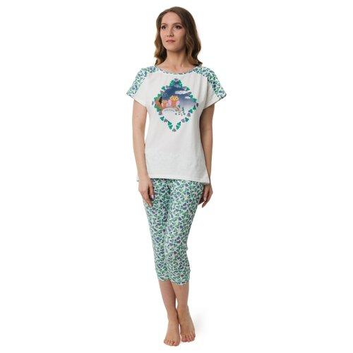 Пижама Evelena размер XS зеленый платье oodji ultra цвет красный белый 14001071 13 46148 4512s размер xs 42 170