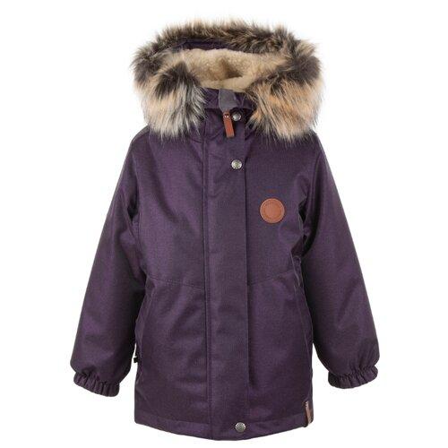 Купить Парка KERRY Marta K20435 размер 122, 6190 фиолетовый, Куртки и пуховики